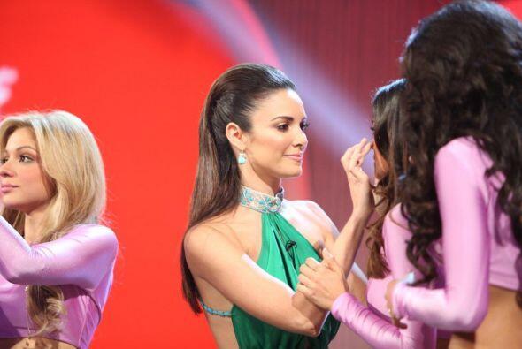 La ex Miss Universo les dijo que todo estaría bien y que confiaba...