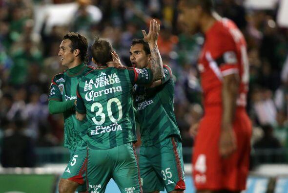 Luego de varios intentos, al minuto 67, Andrés Andrade desbord&oa...