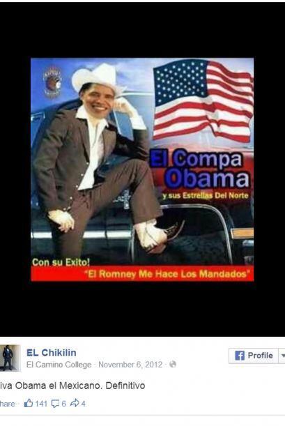 Fotos tomadas de Facebook. Usuario El Chikilin