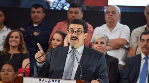 El gobernador de Chihuahua, Javier Corral.