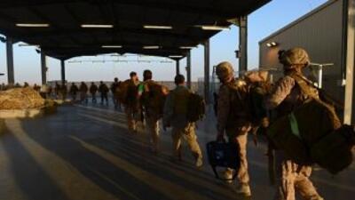 Una decena de soldados de vuelta de misión contra el ébola en Liberia fu...