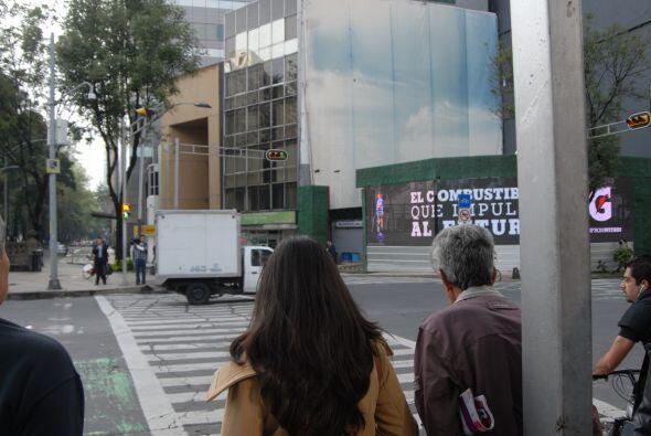 En el caos de las calles de Ciudad de México, los peatones cada d...