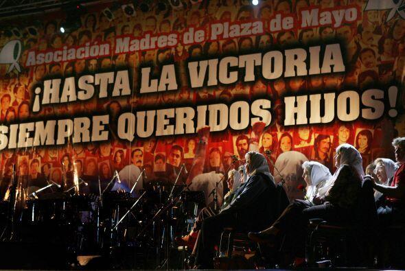 Las Madres de Plaza de Mayo son un baluarte en el movimiendo de los Dere...