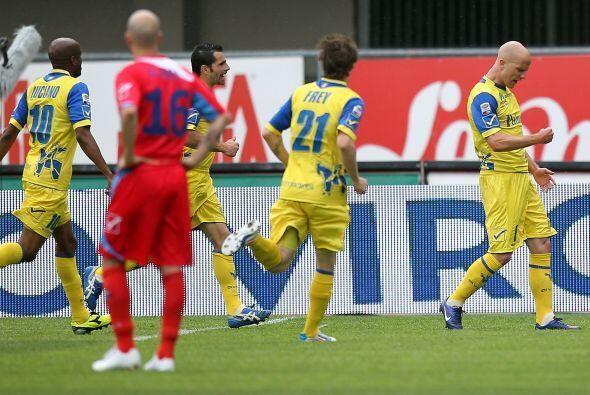 Chievo le ganó al Catania 3 a 2. El norteamericano Michael Bradley abrió...