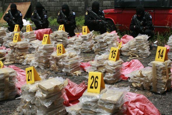 El trasiego de cocaína, heroína y marihuana es ejecutado, según el medio...