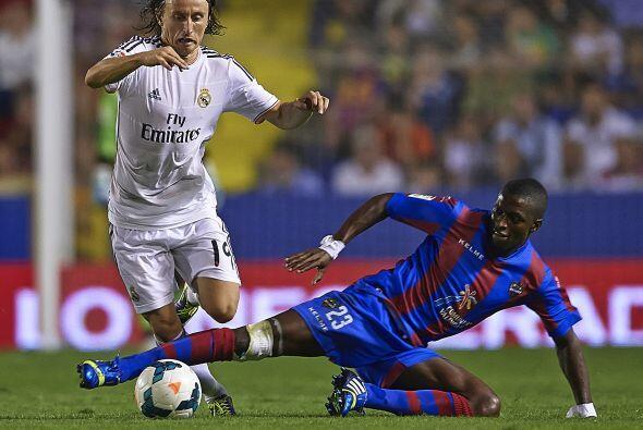 El Madrid se fue encima en busca del empate.