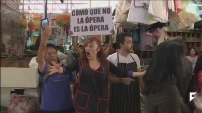 Mexico promotes live opera in public markets