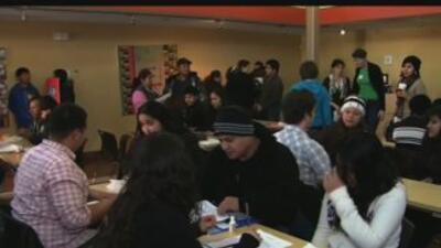 Los migrantes se presentaron antes del anuncio de Barack Obama.