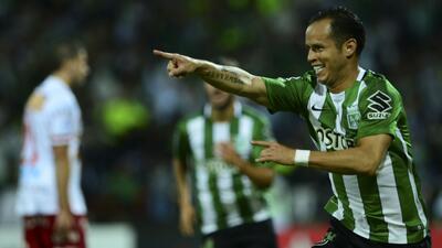 Atlético Nacional se impone a Huracán y se mete a cuartos de final de Libertadores