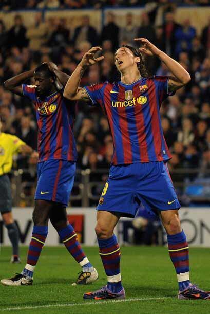 El sueco Zlatan Ibrahimovic dio más argumentos para hablar de su baja de...