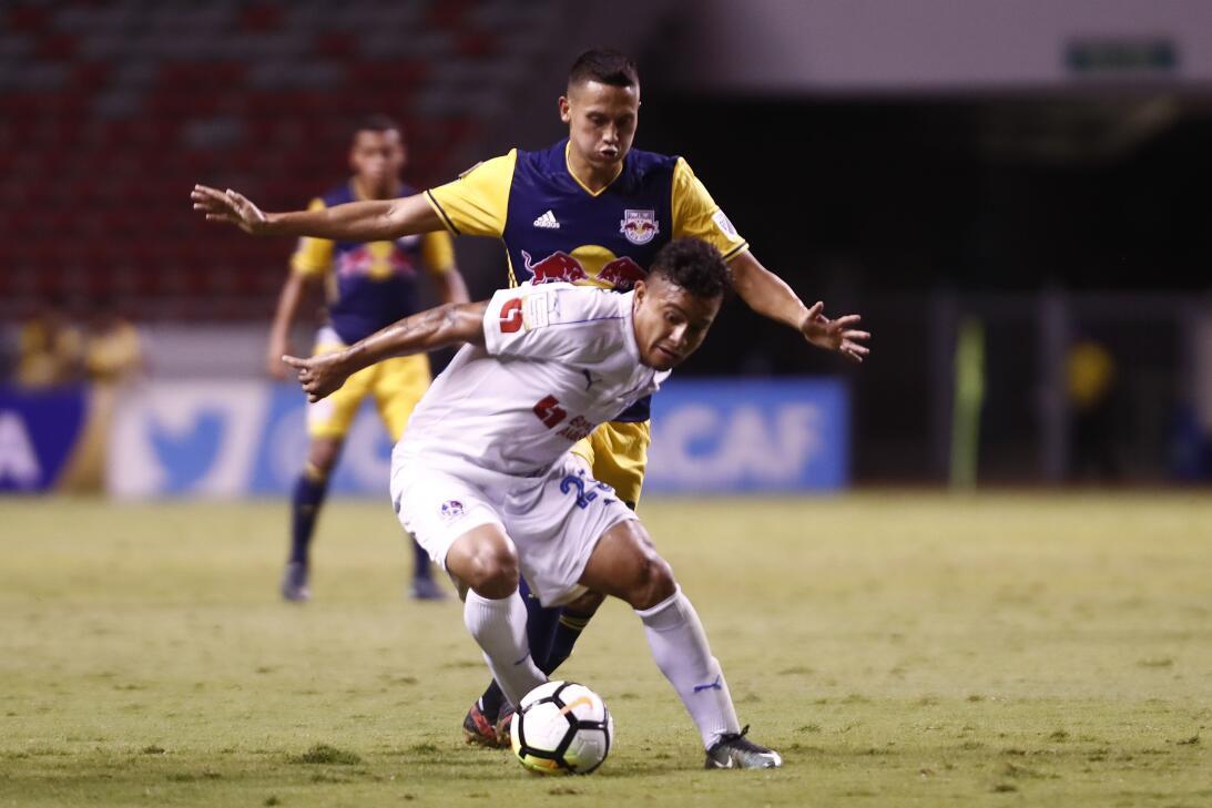 New York Red Bulls empató a domicilio a Olimpia en Honduras en Concacham...