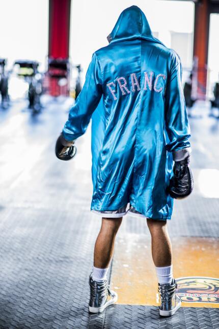 Exclusiva MQB - Franco Noriega - Boxing shooting