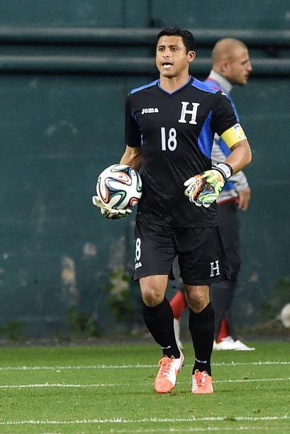 El eterno Noé Valladares, listo apra jugar su segundo Mundial consecutivo.