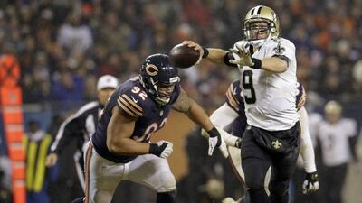 Tres pases de TD tuvo Drew Brees para que los New Orleans Saints derrota...
