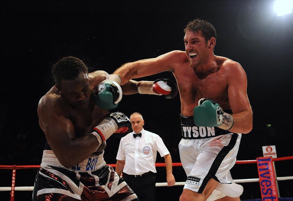 Tyson Fury podría recuperar su licencia en enero GettyImages-119675183.jpg