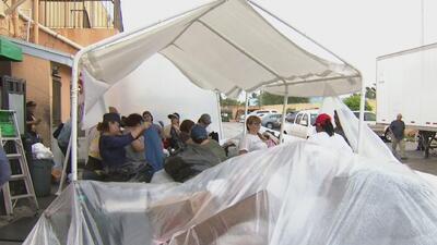 Nicaragüenses del sur de la Florida recaudan donaciones para sus connacionales refugiados en Costa Rica