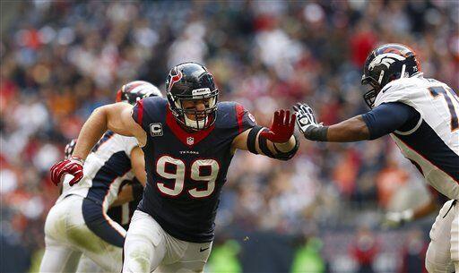 30. Houston Texans. Porcentaje de triunfos de sus rivales: .441