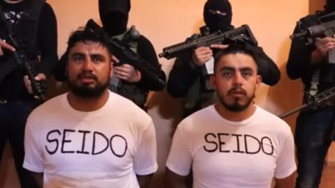 En un video que circula en redes sociales, los agentes desaparecidos dan...