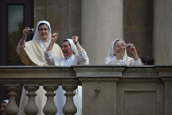 El viernes, el papa Francisco confesó en el parque Quinta da Boa Vista d...