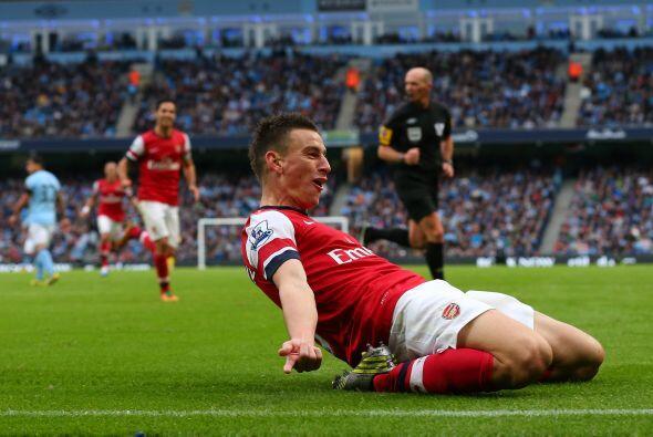 Y segundo porque marcó el gol que ayudó para que su equipo empatara ante...