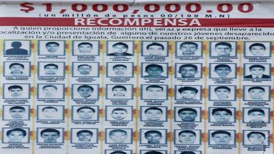 Gobierno de México ofrece gran recompensa por estudiantes mientras se oc...