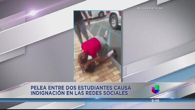 Viral pelea de estudiantes en Luquillo
