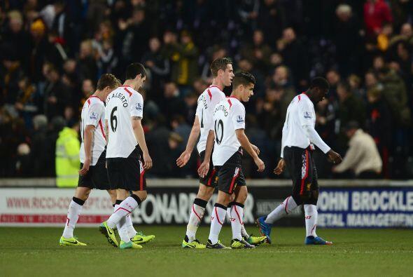 Los 'Reds' perdieron la posibilidad de escalar unos puestos y se quedaro...