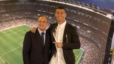 Presidente del Real Madrid revela la causa de la venta de Cristiano Ronaldo a la Juventus
