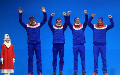 Noruega acumula 13 medallas de oro, 15 de plata y 11 de bronce.