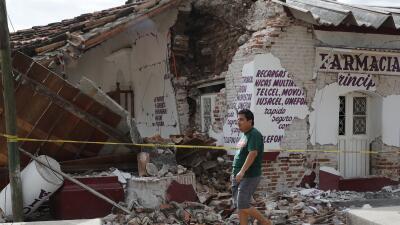 El municipio de Juchitán, Oaxaca, es uno de los más afectados.