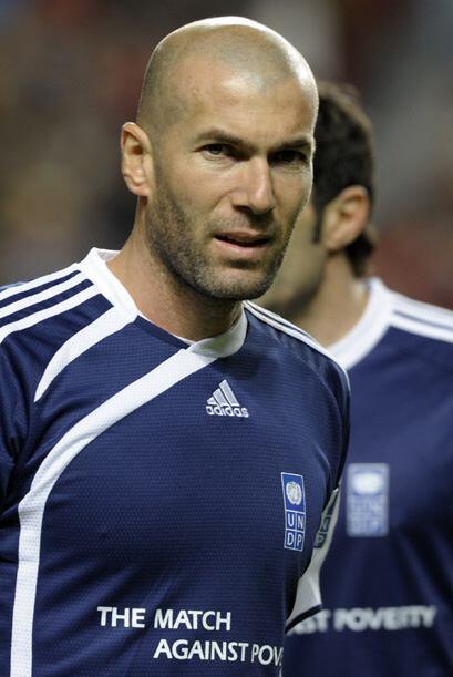 Zidane fue el encargado de esta noble causa a favor de la isla caribeña.