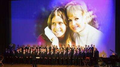 Así fue el homenaje póstumo a las actrices Debbie Reynolds y Carrie Fisher