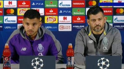 'Tecatito' Corona habló en 'portuñol' sobre el juego entre Porto y Lokomotiv Moscú