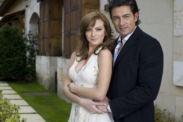 Al lado de Fernando Colunga, estelarizó esta romántica historia.