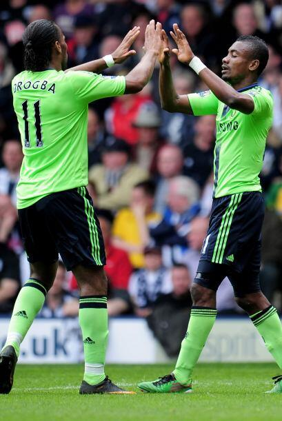 El resultado final fue Chelsea 3- West Bromwich 1.