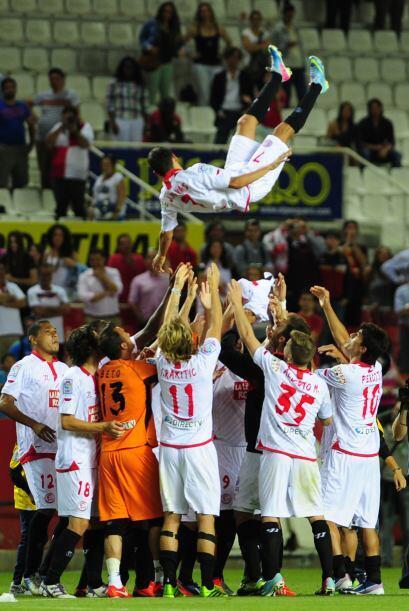 Y otro que voló fue Negredo, del Sevilla, con 4 goles para vecer al VAle...