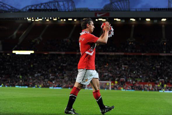 Agradeció a todas las personas que se dieron cita en Old Trafford.