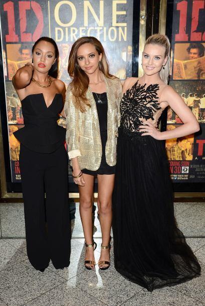 Las 'Little Mix' sedujeron a todos con su belleza, aunque Perrie Edwards...