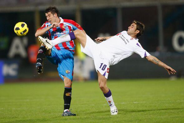 Dicho panorama fue acorde con el marcador final, 0-0 entre Catania y Fio...