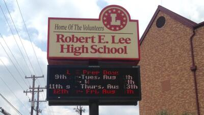 Robert E. lee Highschool