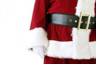 Un Santa Claus secreto sorprendió a un niño con cáncer cerebral.