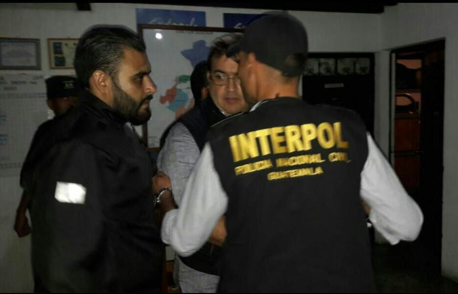 In photos: the arrest in Guatemala of Javier Duarte, former governor of...