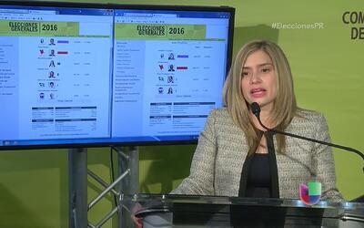 Presidenta de la CEE reafirma beneficios del escrutinio electrónico