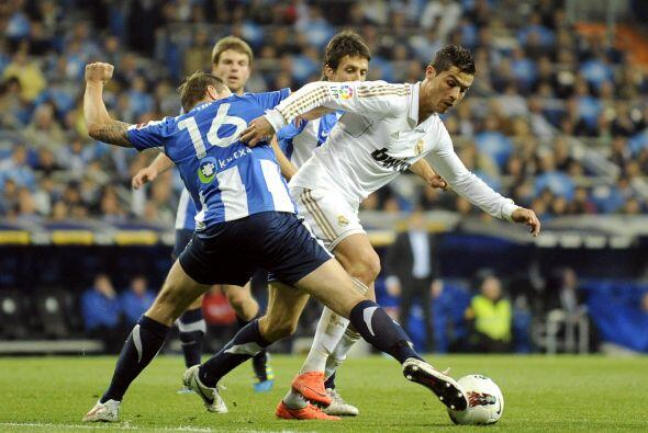 El Madrid ganaba 1 a 0 y se hizo dueño del partido.