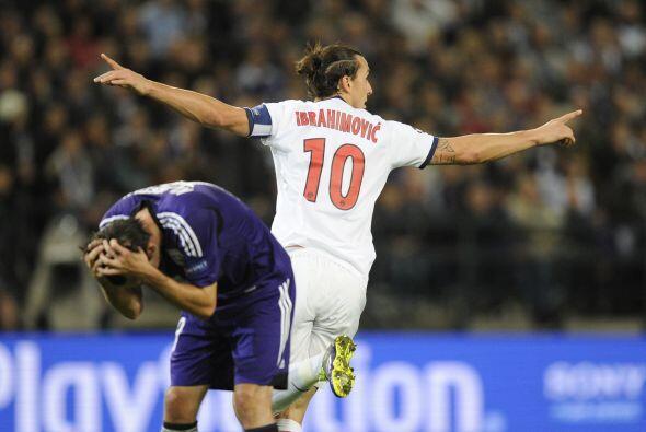 El hombre de la jornada fue el sueco Zlatan Ibrahimovic, quien anotó la...