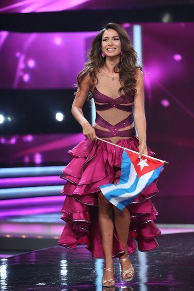 Las curvas y la belleza de la cubana fueron armas clave para destacar de...
