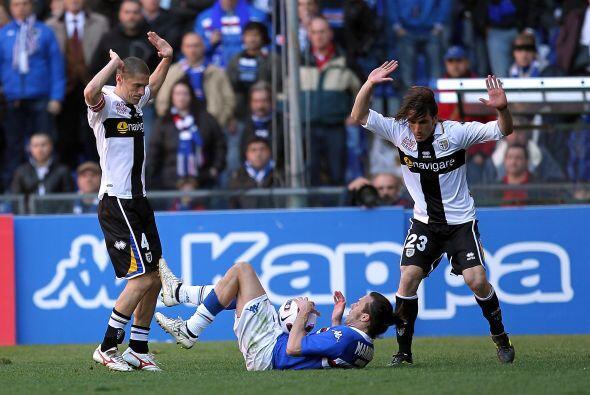 ¿Quién derribó a Daniele Mannini de la Sampdoria? E...