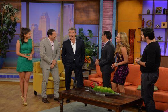 Pierce Brosnan está de estreno y queríamos saber todo sobre su película.