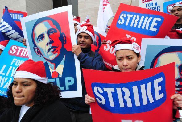 Además de Nueva York y Washington DC, hubo protestas similares en Chicag...