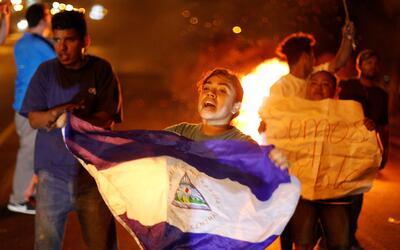 Protestas en las calles de Nicaragua por la reforma de la seguridad soci...